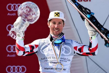 Австрийский горнолыжник Марсель Хиршер – обладатель Большого Хрустального Глобуса - «Горнолыжный спорт»