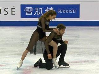 Французские танцоры Габриэла Пападакис и Гийом Сизерон победили в финале Гран-при (+Видео) - «Фигурное катание»